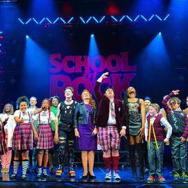 School of Rock Opening Night