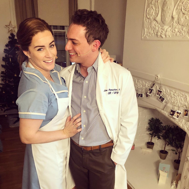 Waitress - Matthew Rowland as Dr Pomatter with Lucie Jones