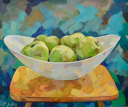 Ample (Apples in Bowl)