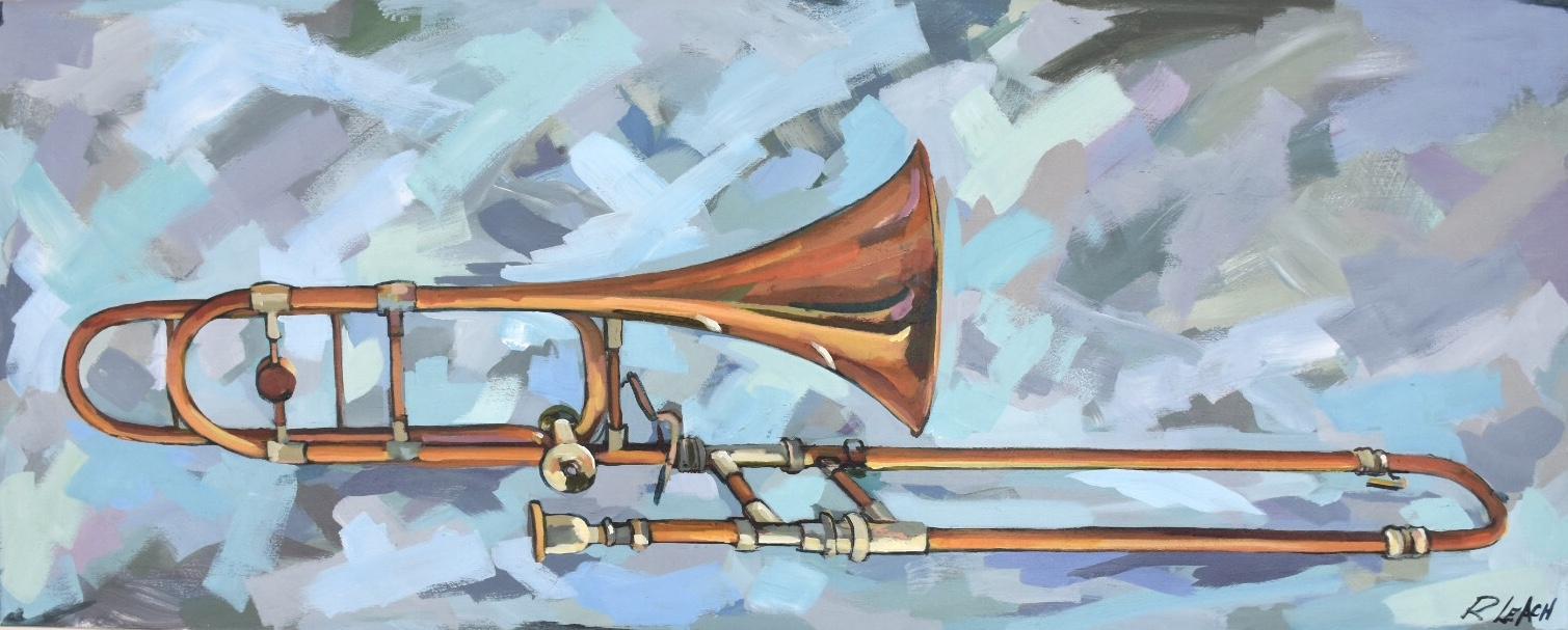 Sam's Trombone, 40 x 20