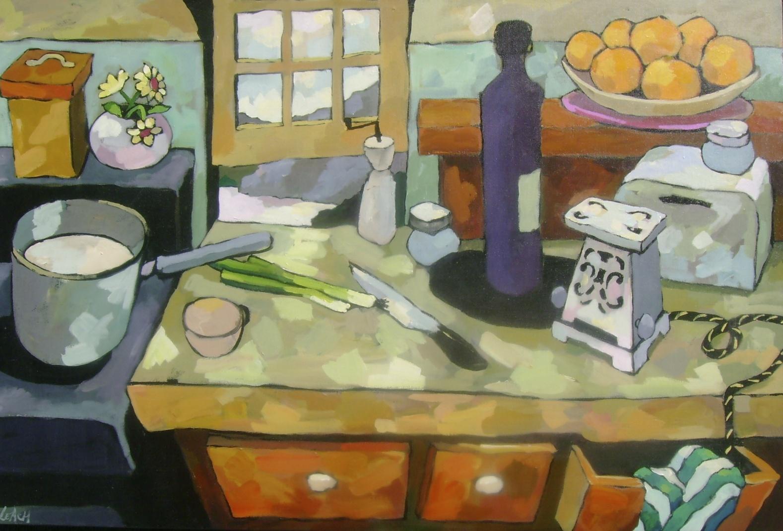 Kitchen Counter Series, 36 x 24
