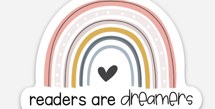 Readers are Dreamers Sticker