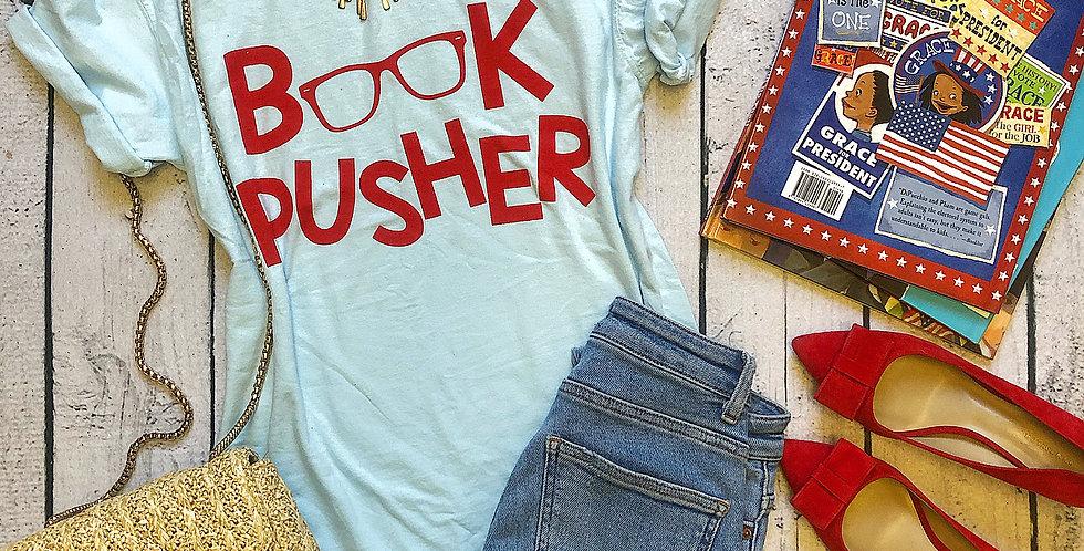 Lt Blue Book Pusher