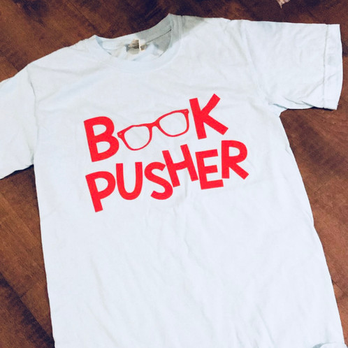 Image result for book pusher