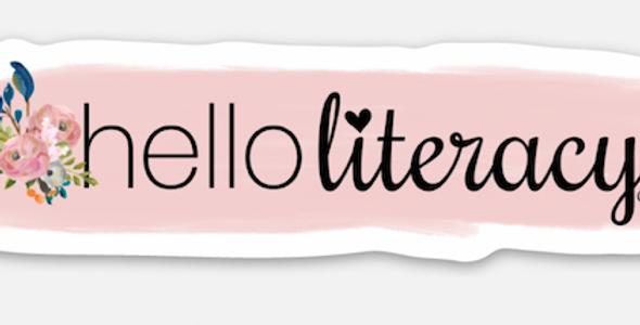 Hello Literacy Paint Sticker
