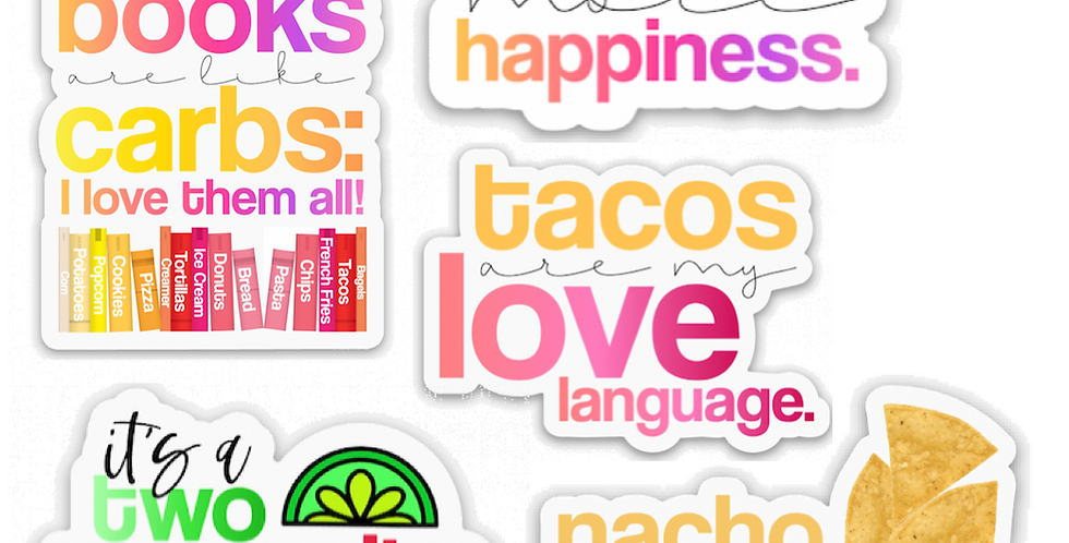 Food Sticker Bundle
