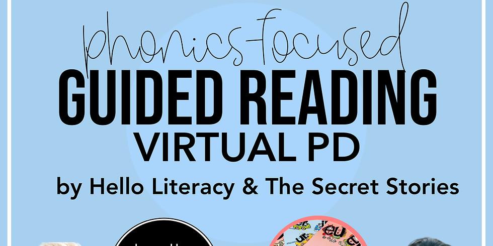 Phonics Focused Guided Reading PD with Jen Jones & Katie Garner