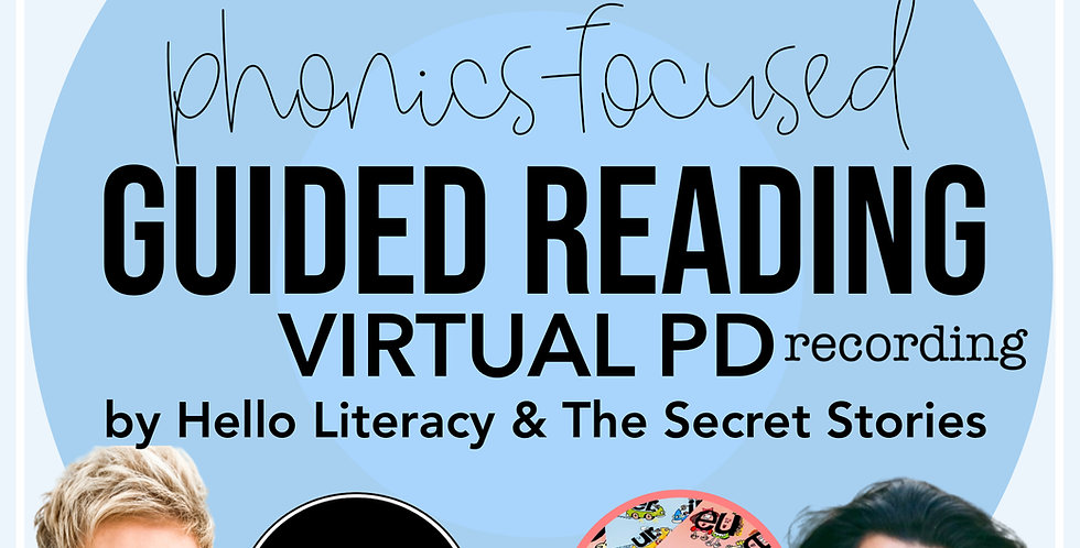 Phonics Focused Guided Reading Recording