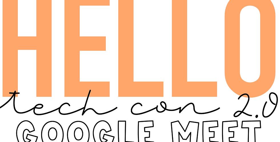 HelloTechCon 2.0: Google Meet Recording