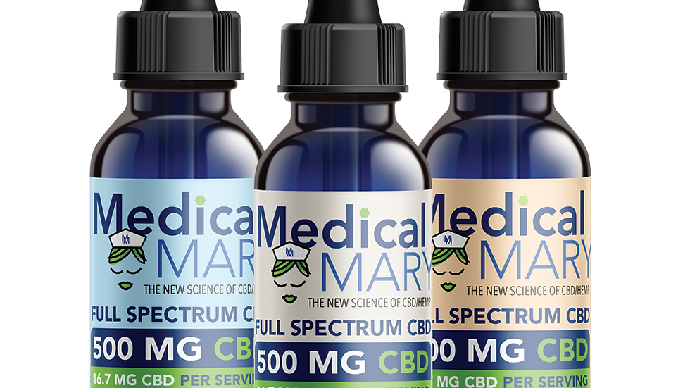 Full Spectrum Tincture 500mg Natural
