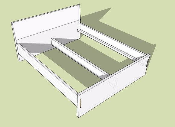 Doppelbett Small NATUR-PUR     ab