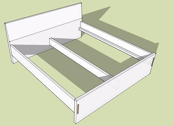 Doppelbett NATUR-PUR          ab