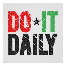 Do it Daily - your Bookkeeping, that is...
