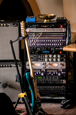 Guitar and Rack