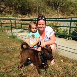 Our First Adoption! Tavis!