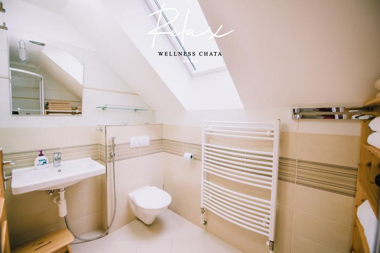 Wellness Chata Relax, Koupelna