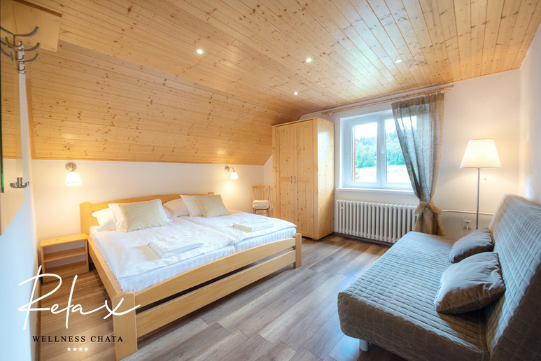 Wellness Chata Relax, Ložnice
