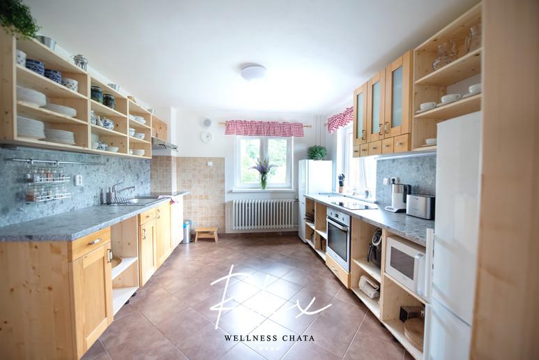 Wellness Chata Relax, Kuchyně