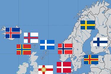 List m3u nordic countries
