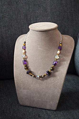 Violette - Collier & Bracelet
