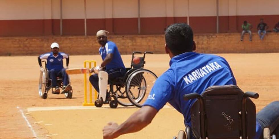 First Ever Test Match in Wheelchair Cricket