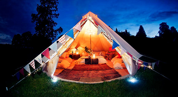 Glamping (per night) 2 Persons