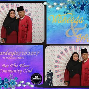 Waheeda & Irfan