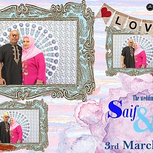 Wedding Of Saif & Nas