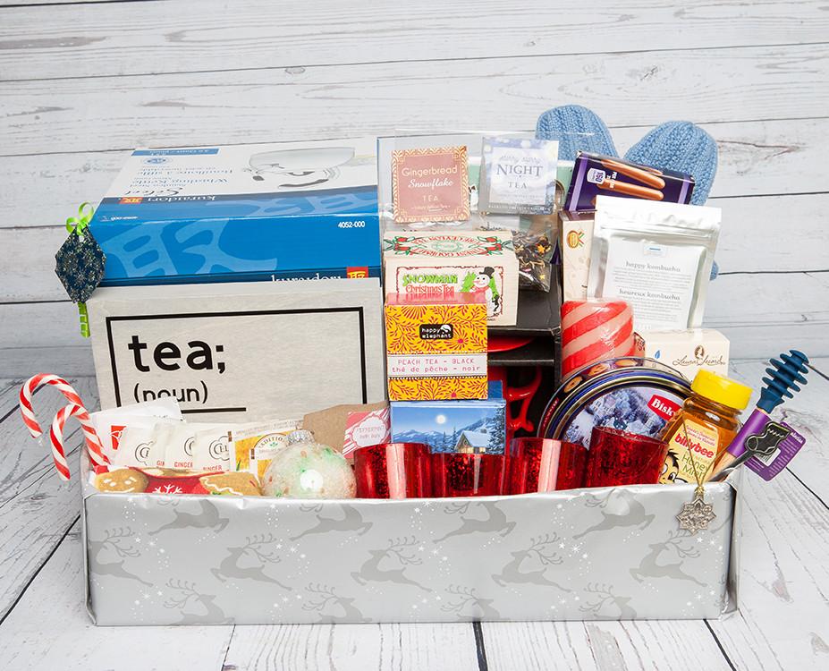 Holiday Tea Basket