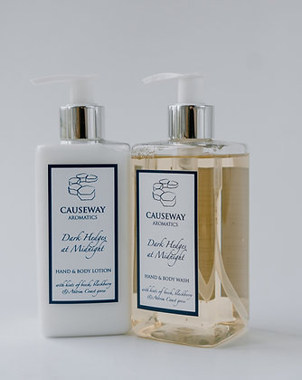 Dark Hedges at Midnight Hand & Body Wash and Lotion Set