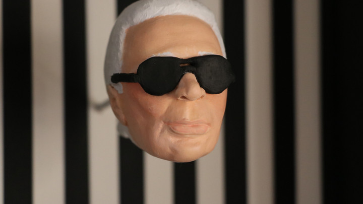 K. Lagerfeld, Collective exhibition 2021 Grimaud, south of France