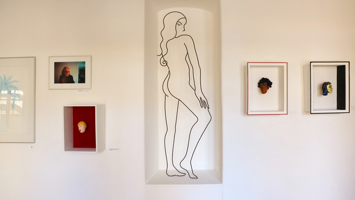 Collective exhibition 2021 Grimaud, south of France