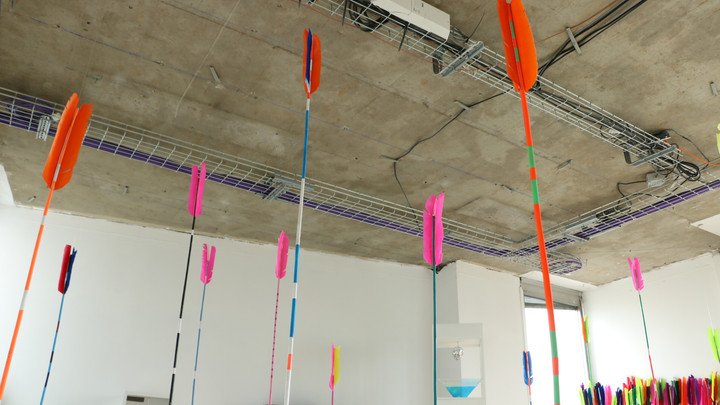 Installation at Poush Manifesto
