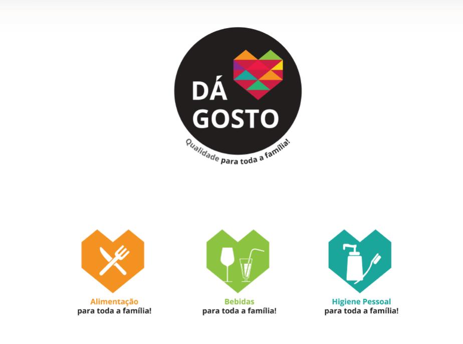 Branding produtos alim Dá Gosto