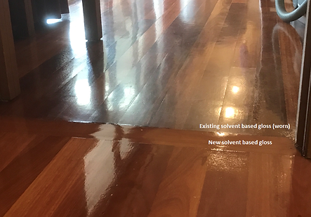 hardwood timber floor coating