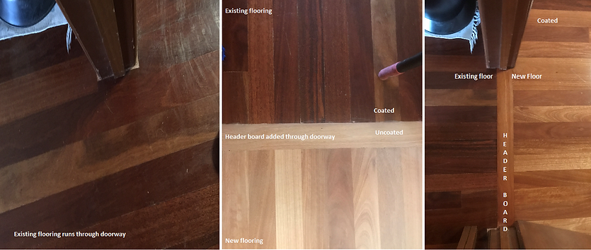 hardwood timber floor repair