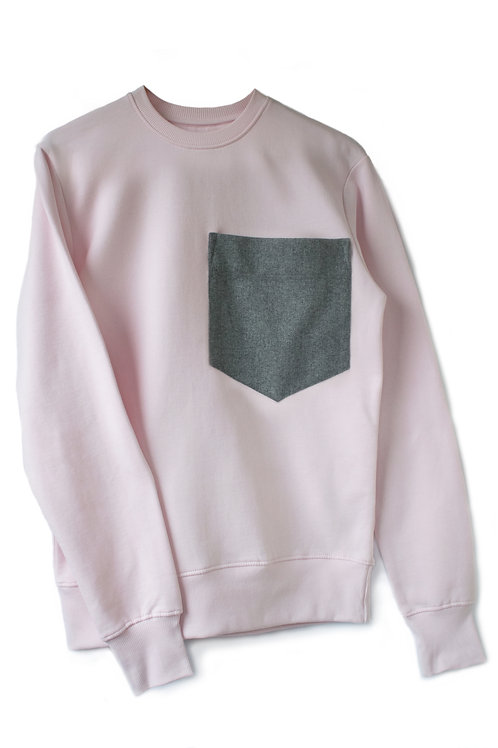 THE PINK POCKET SWEATSHIRT