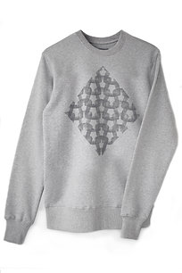 THE GREY 'KNIT' SWEATSHIRT