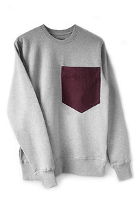 THE GREY POCKET SWEATSHIRT