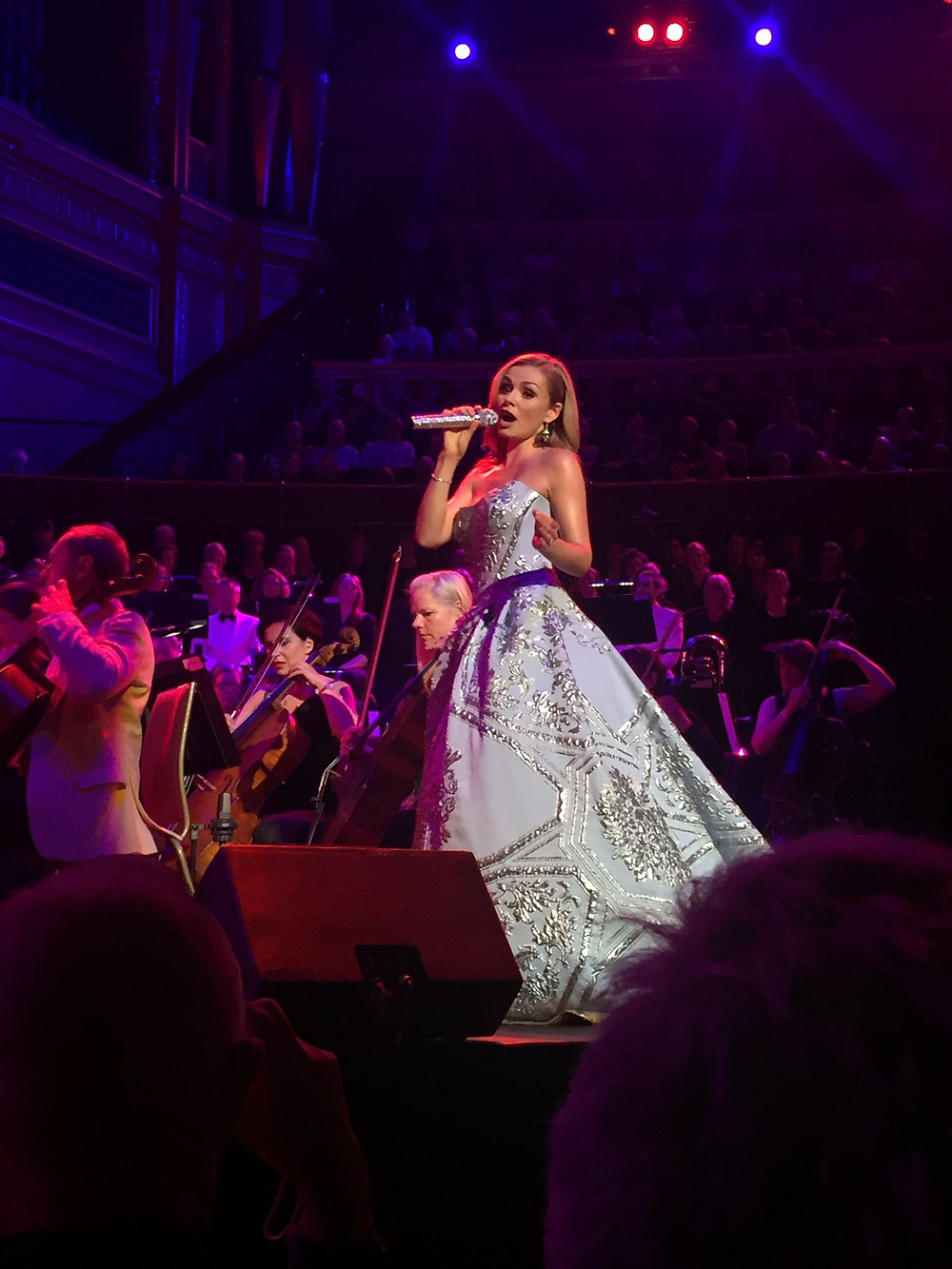 On that 18th of June, My daughter and I went to watch Katherine Jenkins at the Royal Albert Hall. It was such a beautiful night that I quickly bought tickets for another concert the next day.