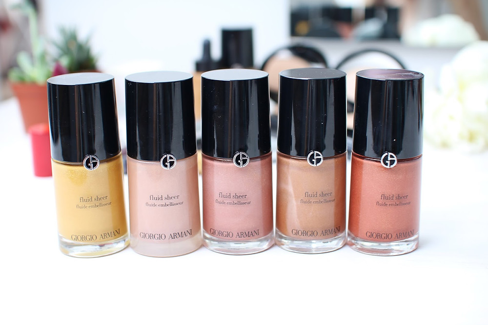 FLUID SHEER BY GIORGIO ARMANI
