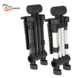 CR-85 Silver and Black Stands