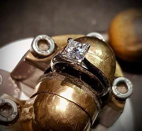 Princess Diamond Engagement rn