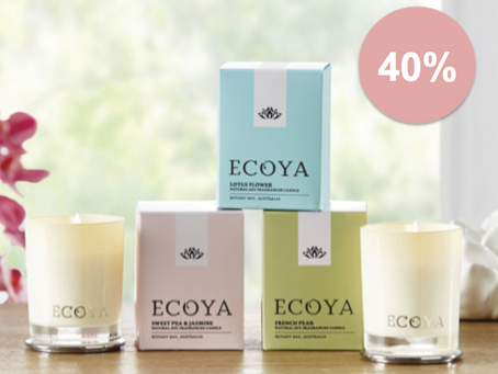 AREIAS ECOYA SALE - 40% OF ALL STOCK