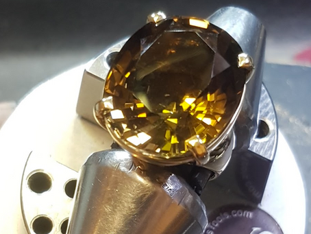 Big Bold & Beautiful ~ Natural Citrine