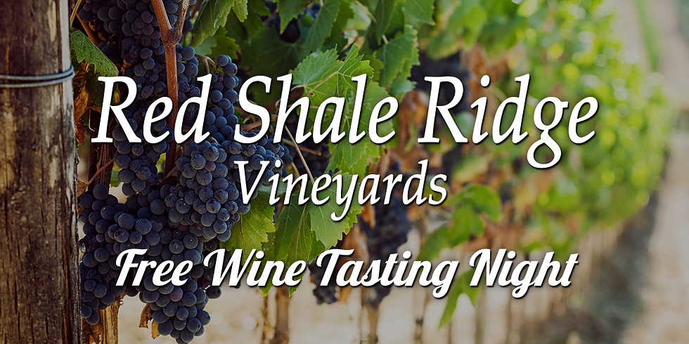 Red Shale Ridge Vineyards Tasting Night