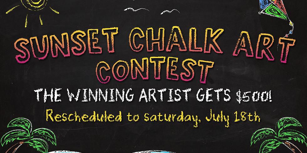 Sunset Chalk Art Contest