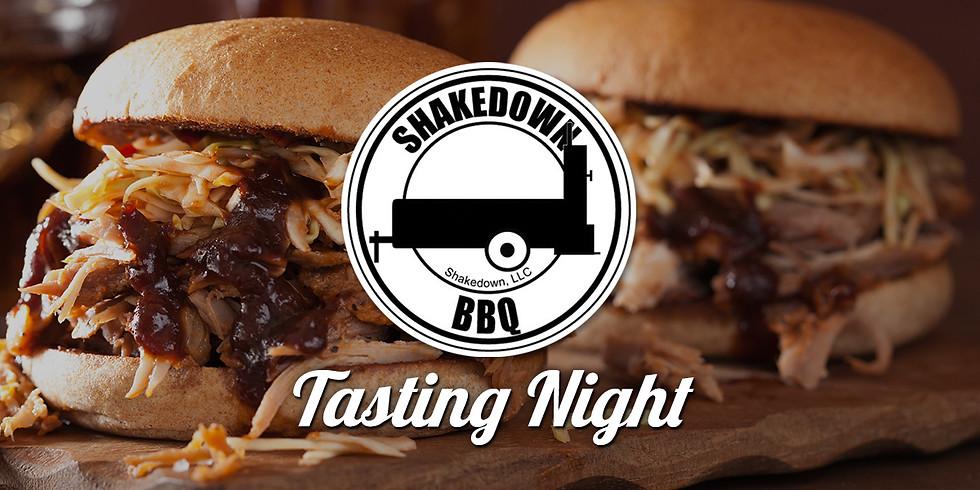 ShakeDown BBQ Tasting Night