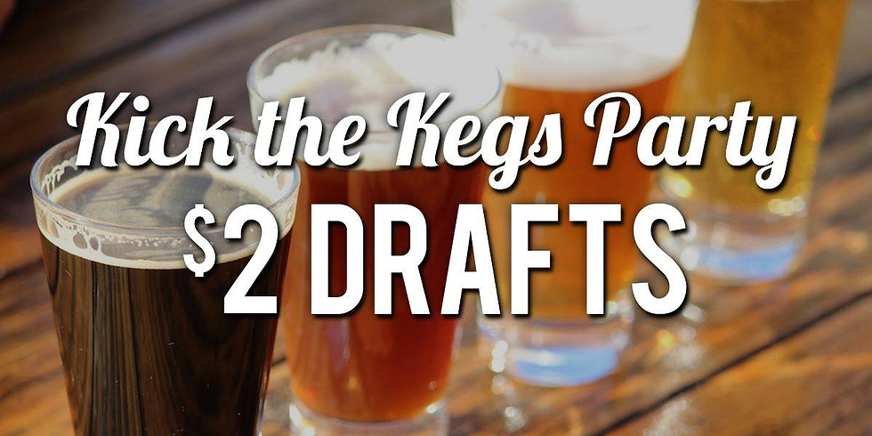 Kick the Kegs Party