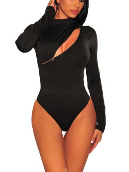 Zipper Body Suit